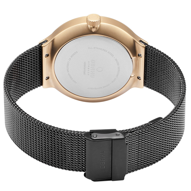 Obaku Men watch MOS - NIGHT CLOSE view