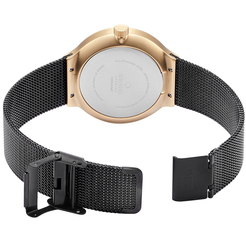 Obaku Men watch MOS - NIGHT OPEN view