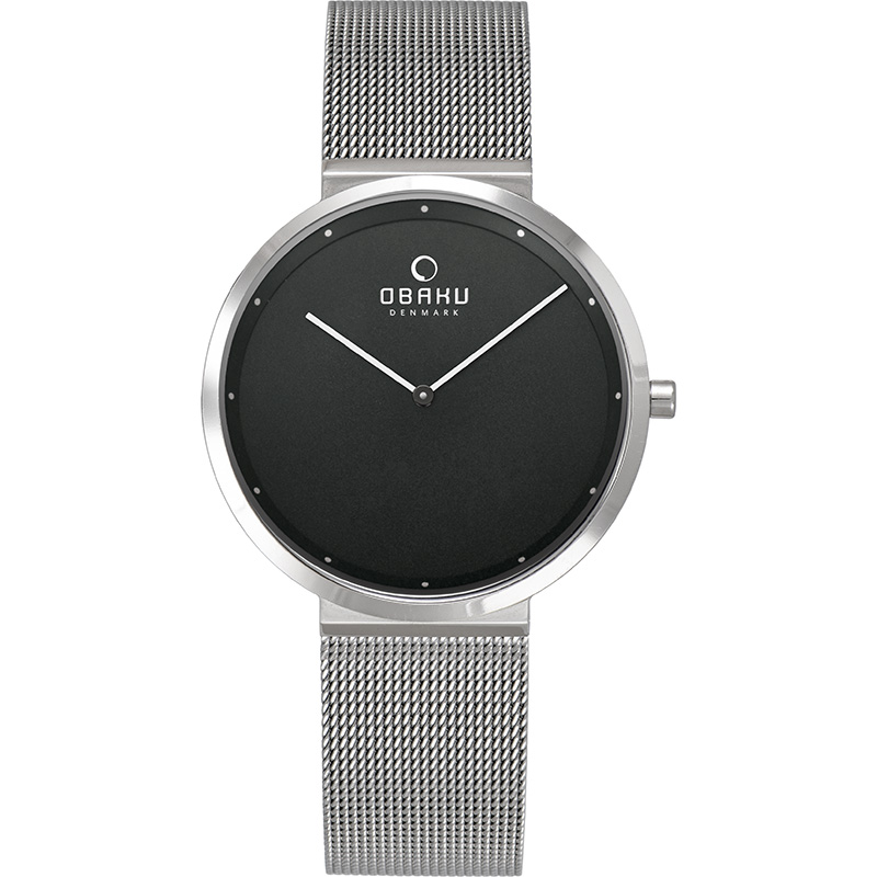 Obaku Women watch PAPIR LILLE - ONYX FRONT view