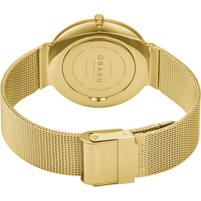 Obaku Women watch PAPIR LILLE - GOLD CLOSE view