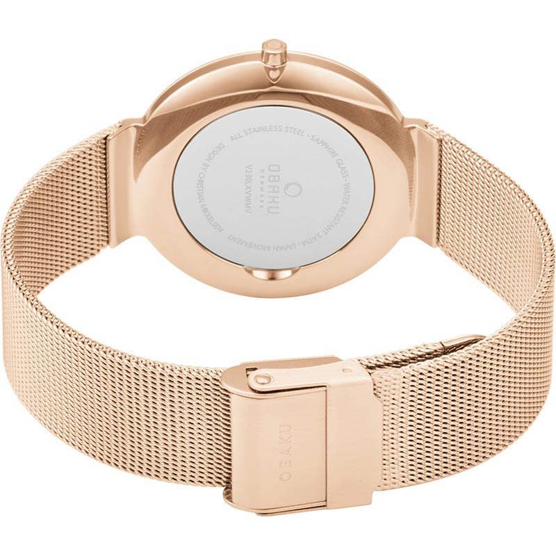 Obaku Women watch PAPIR LILLE - ROSE CLOSE view