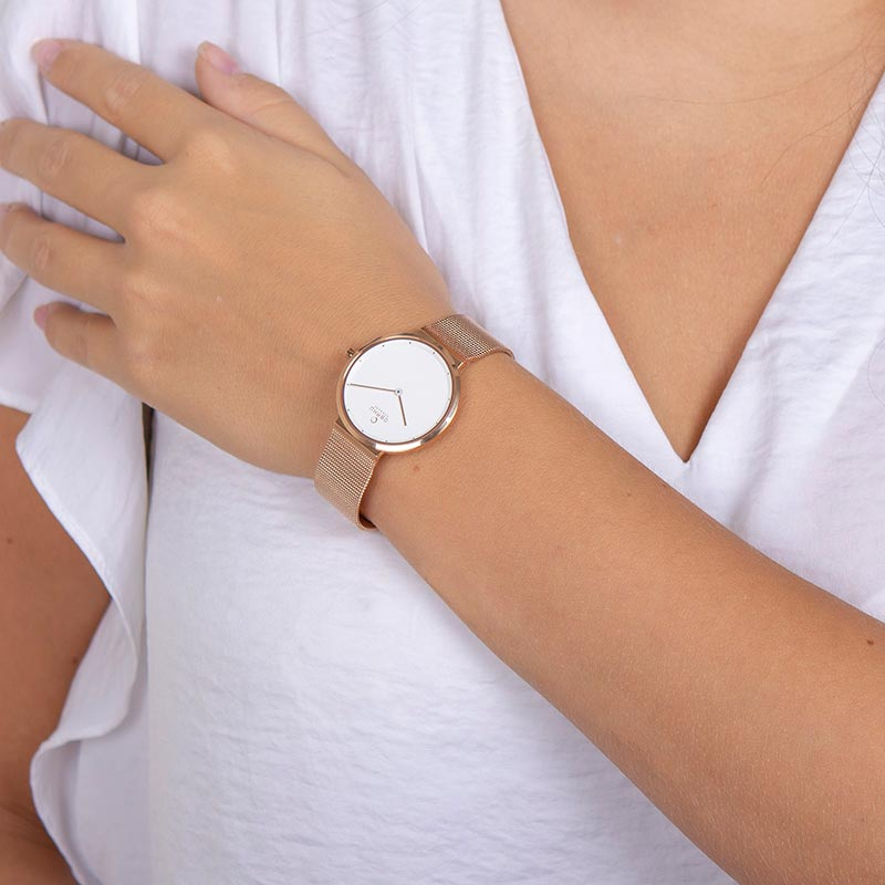 Obaku Women watch PAPIR LILLE - ROSE WRIST view