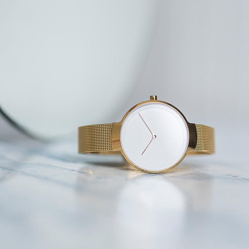 Obaku Women watch BIRK - GOLD SM1 view