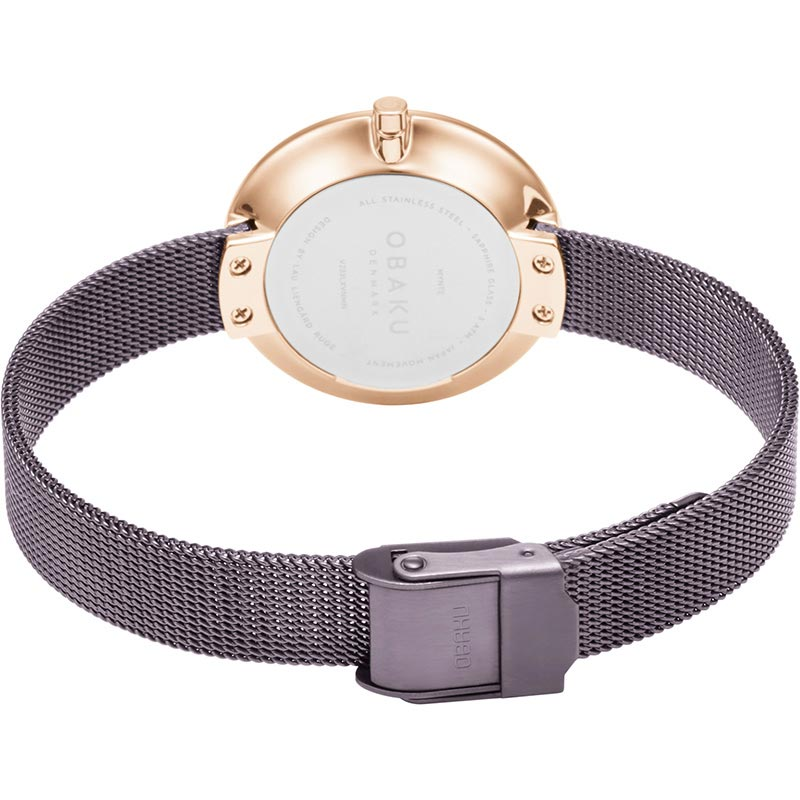 Obaku Women watch NOTAT - WALNUT CLOSE view