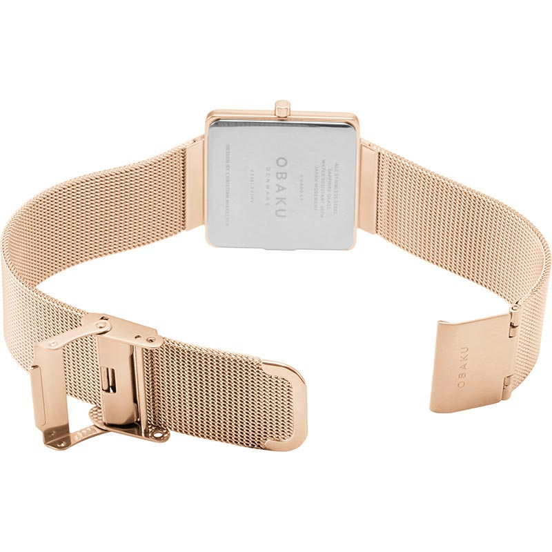 Obaku Women watch KVADRAT - ROSE OPEN view
