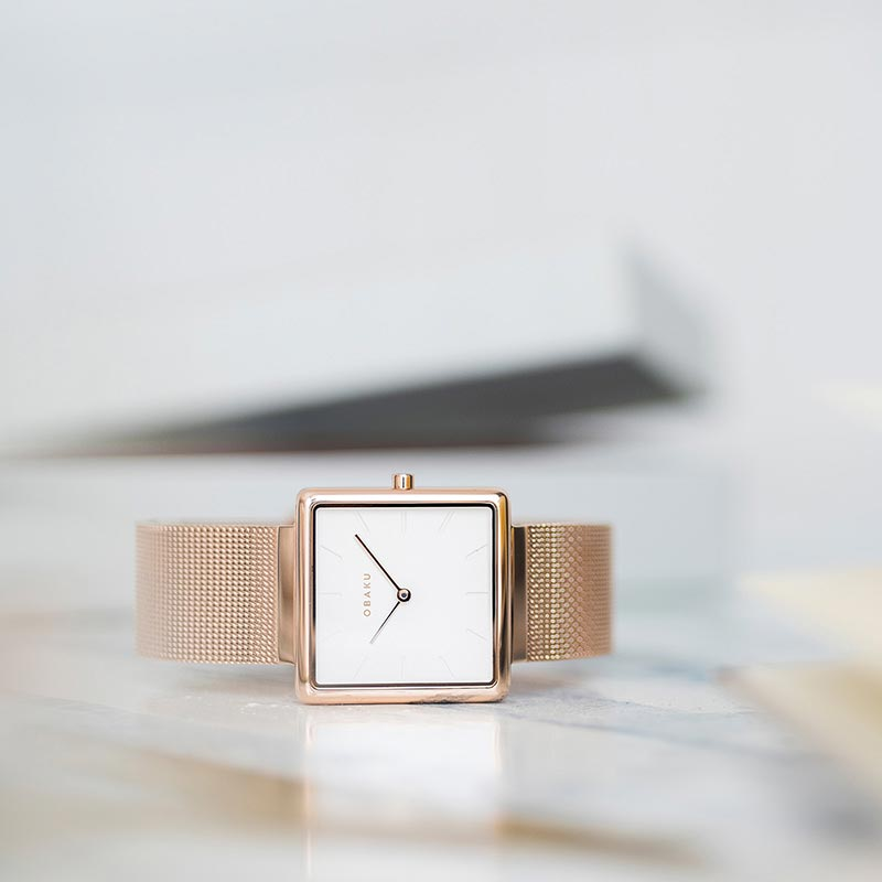 Obaku Women watch KVADRAT - ROSE SM1 view