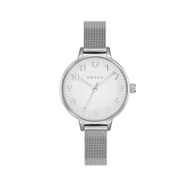 Obaku Women watch SYREN - STEEL FRONT view