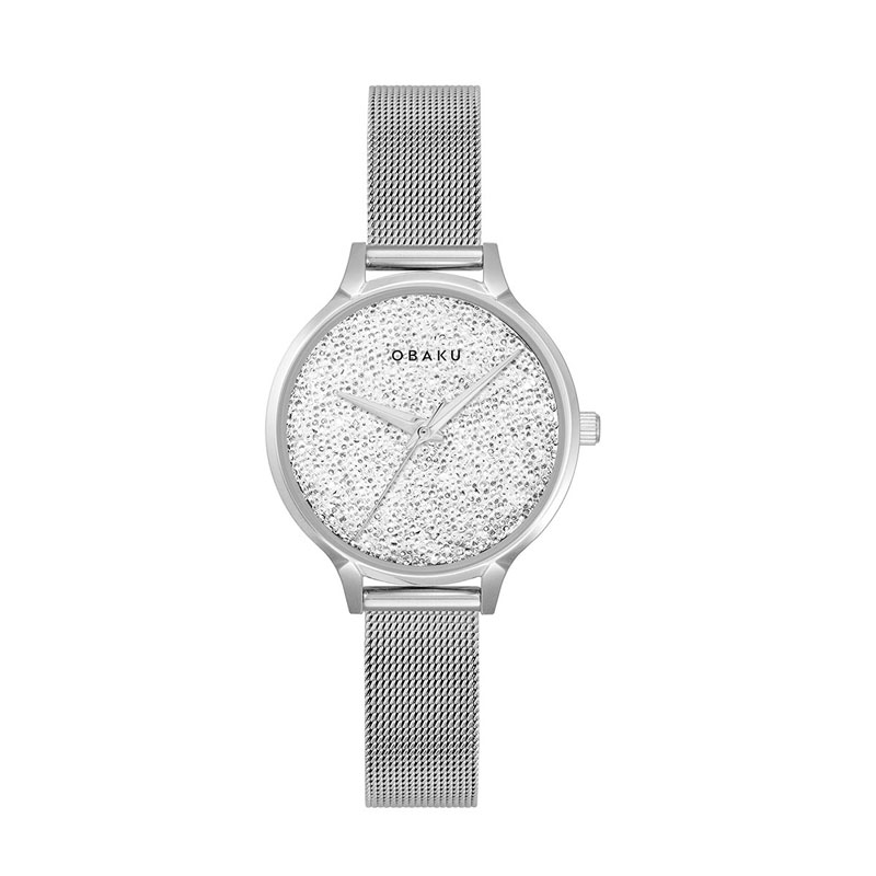 Obaku Women watch STJERNER - STEEL FRONT view