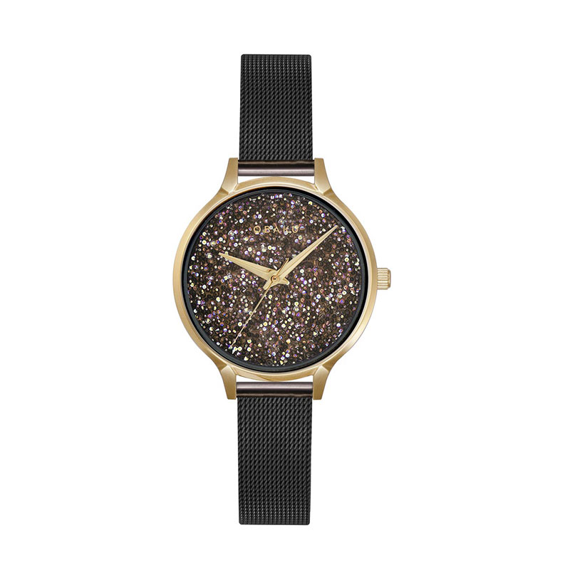 Obaku Women watch STJERNER - MEDALLION FRONT view