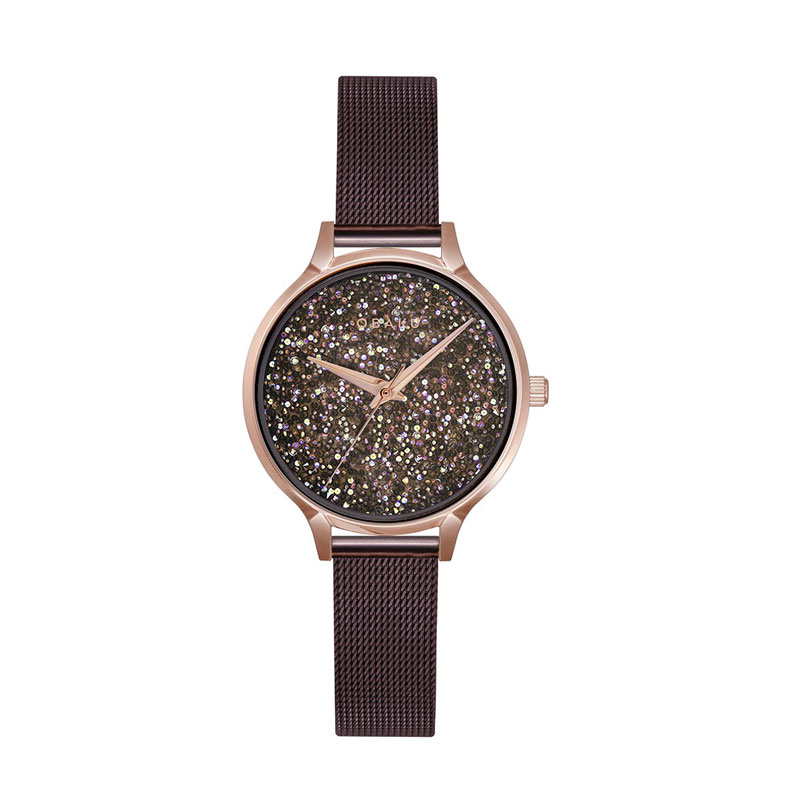 Obaku Women watch STJERNER - WALNUT FRONT view