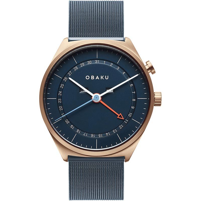 Obaku Men watch DATO - OCEAN FRONT view
