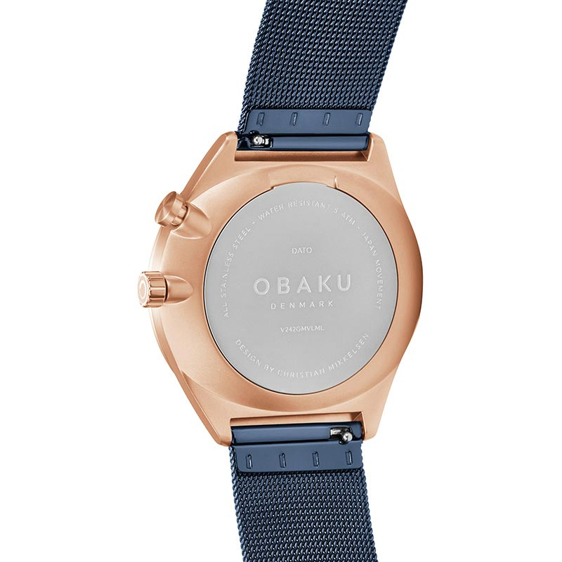 Obaku Men watch DATO - OCEAN BACK view