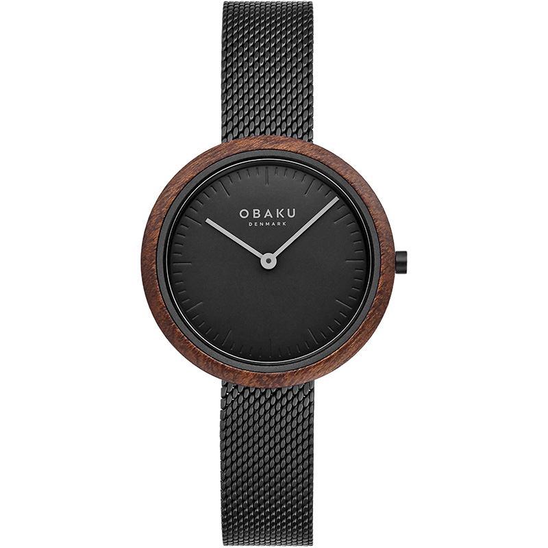 Obaku Women watch TRAE LILLE - CHARCOAL FRONT view