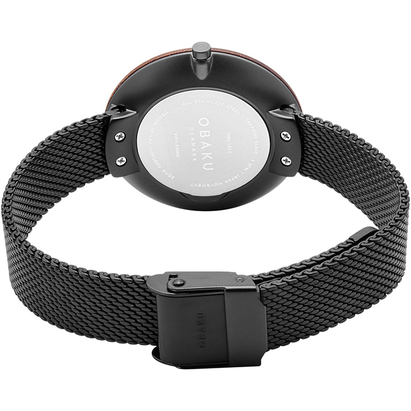 Obaku Women watch TRAE LILLE - CHARCOAL CLOSE view