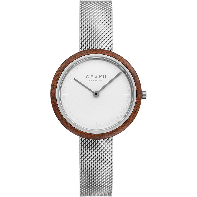 Obaku Women watch TRAE LILLE - STEEL FRONT view