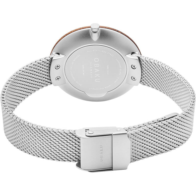 Obaku Women watch TRAE LILLE - STEEL CLOSE view