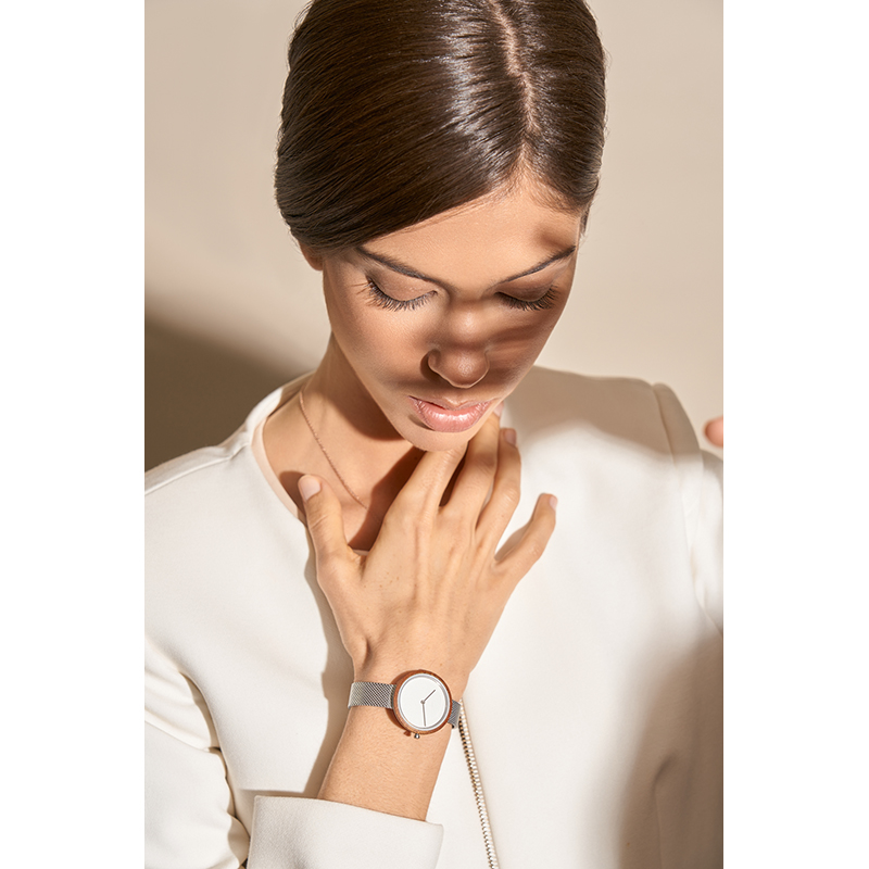 Obaku Women watch TRAE LILLE - STEEL SM1 view