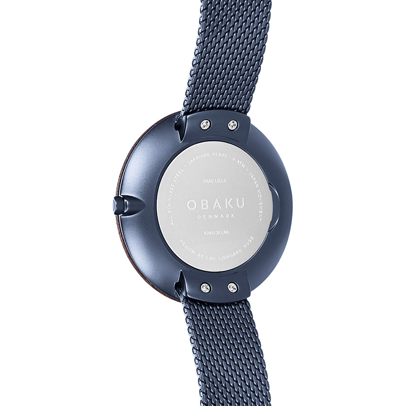 Obaku Women watch TRAE LILLE - MARINE BACK view