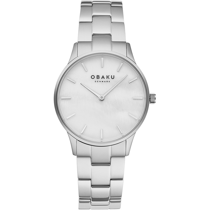 Obaku Women watch LYNG LILLE - STEEL FRONT view