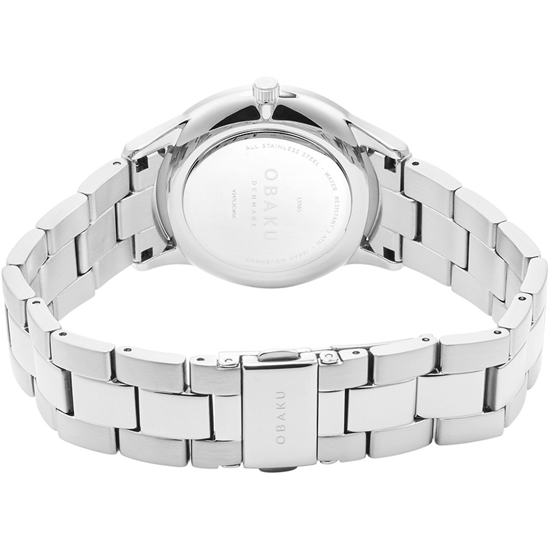 Obaku Women watch LYNG LILLE - STEEL CLOSE view