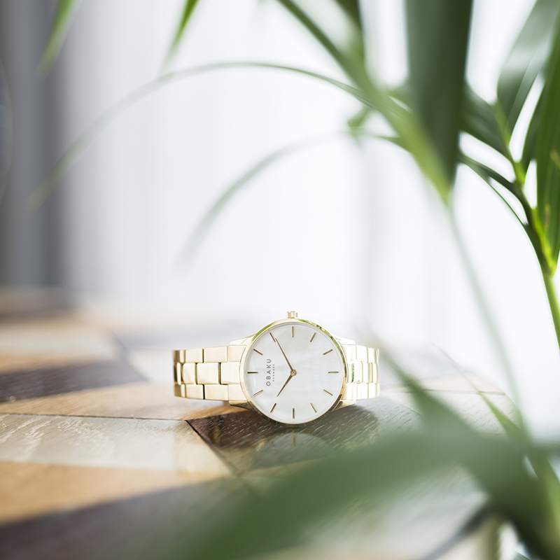 Obaku Women watch LYNG LILLE - GOLD SM1 view