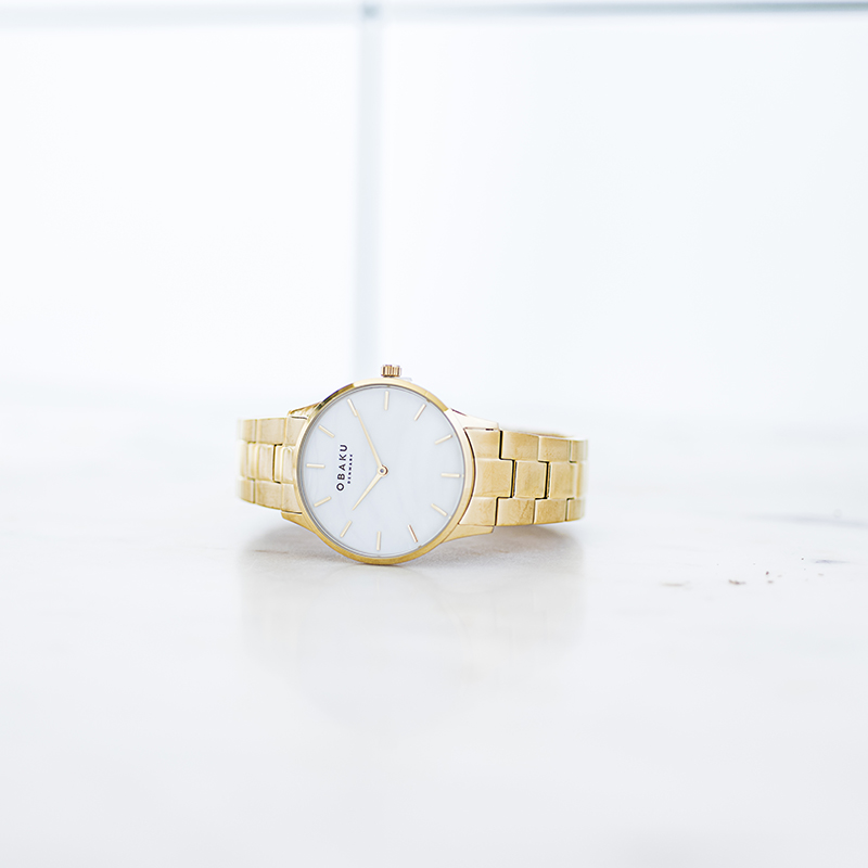 Obaku Women watch LYNG LILLE - GOLD SM3 view