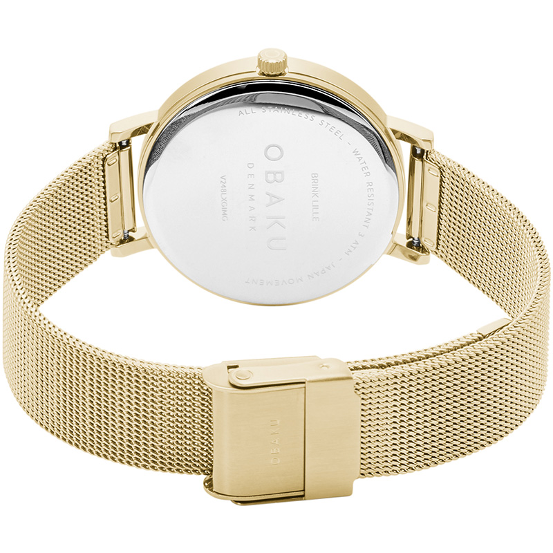 Obaku Women watch BRINK LILLE - GOLD CLOSE view
