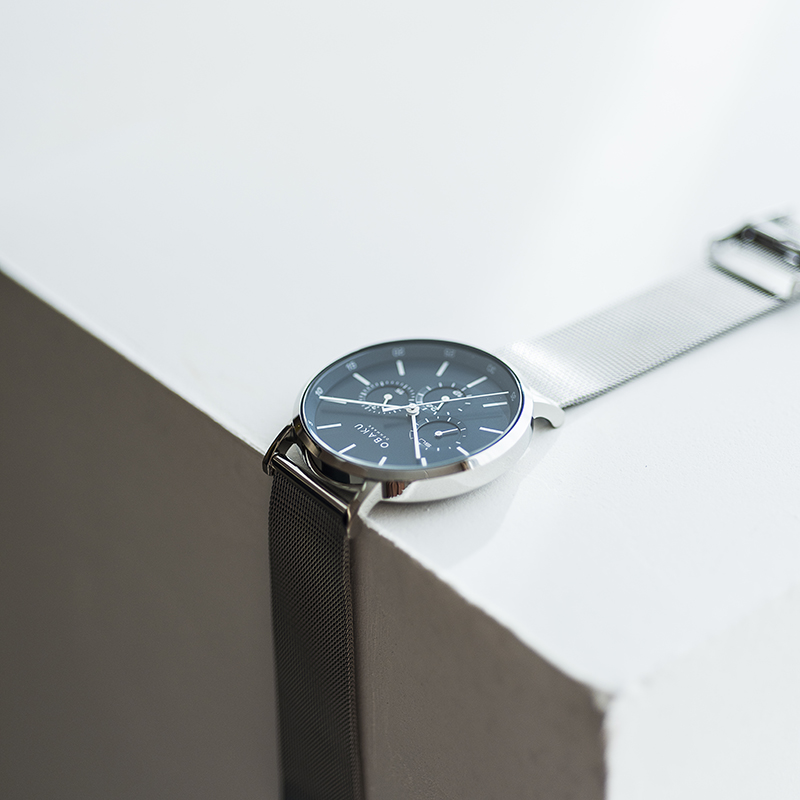 Obaku Men watch ASK - CYAN SM1 view