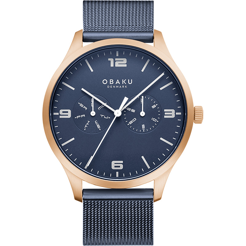Obaku Men watch ASK - OCEAN FRONT view