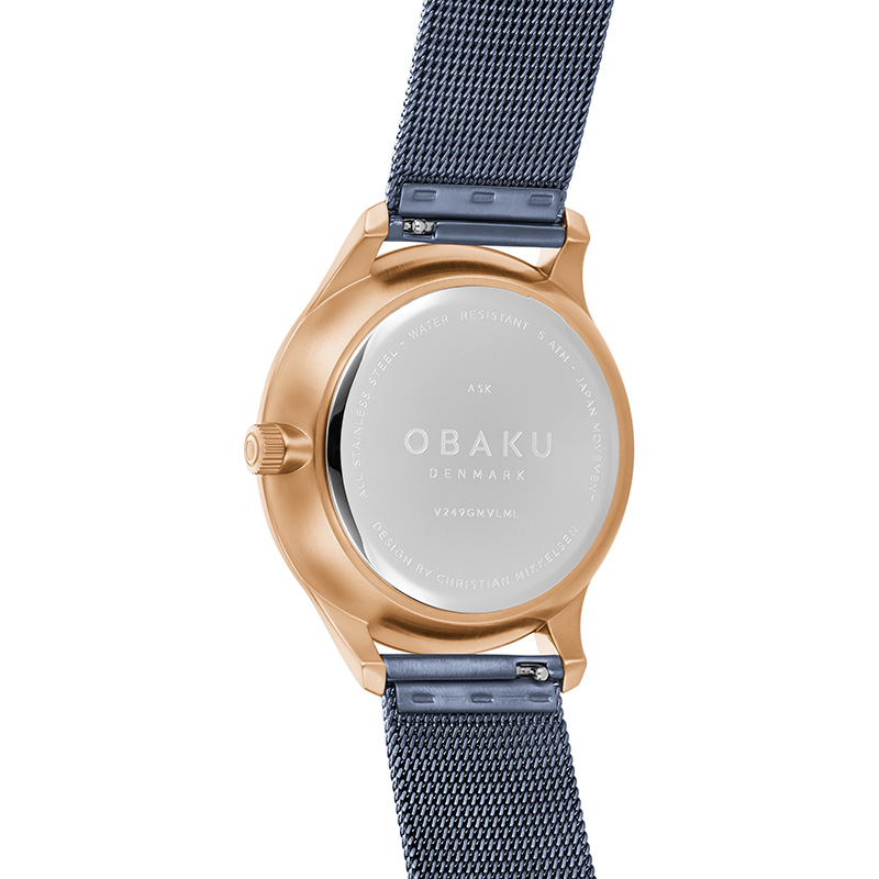 Obaku Men watch ASK - OCEAN BACK view
