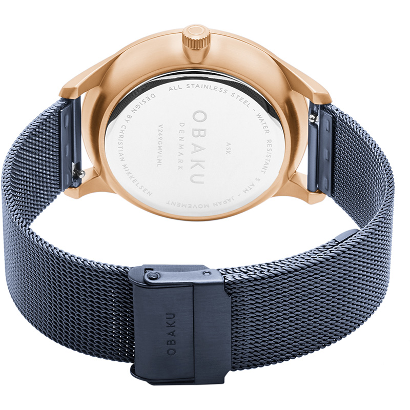 Obaku Men watch ASK - OCEAN CLOSE view